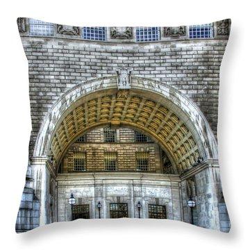 Mi5 Offices  London Throw Pillow