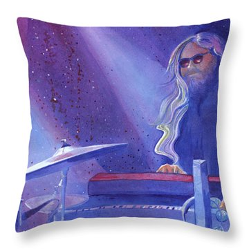 Miah At The Goat Keystone Colorado Throw Pillow