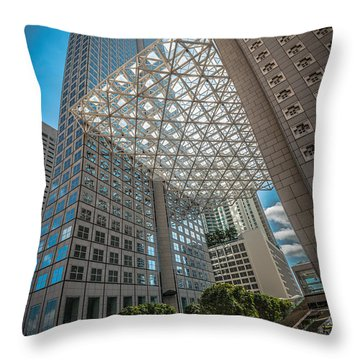 Concrete Jungle Throw Pillows