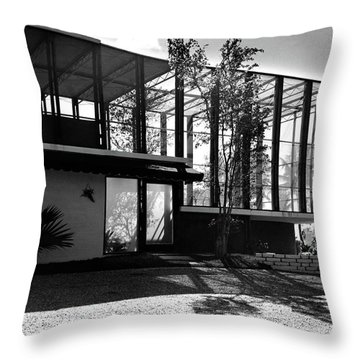 Michael Heller's Home In Miami Throw Pillow