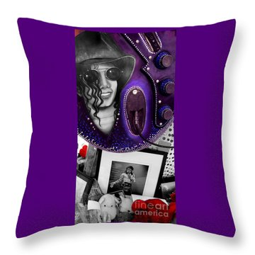 Michael's Memorial Throw Pillow