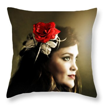 Michelle Bailey Throw Pillow