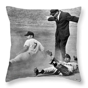 Baseball Throw Pillows