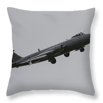 Mid-air Canberra Throw Pillow