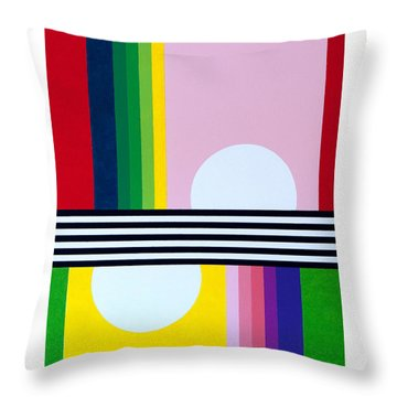 Mid Century Resolution Throw Pillow