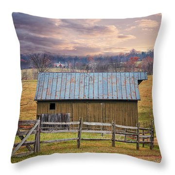 Middleburg Virginia Countryside Throw Pillow