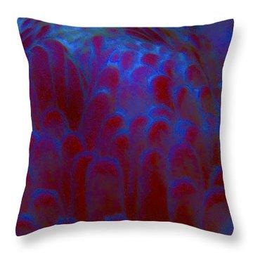 Midnight Bloom Throw Pillow by Jocelyn Kahawai