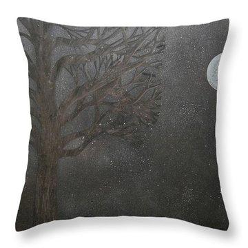 Midnight Calm Throw Pillow by Drew Shourd