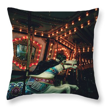 Midnight Dream Throw Pillow by Rachel Mirror