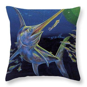 Midnight Encounter Off0023 Throw Pillow