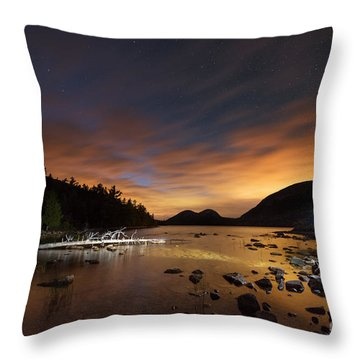 Midnight Explorer Throw Pillow