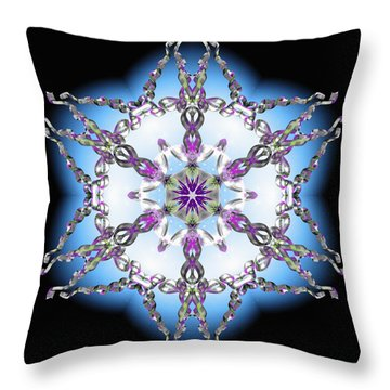 Midnight Galaxy IIi Throw Pillow