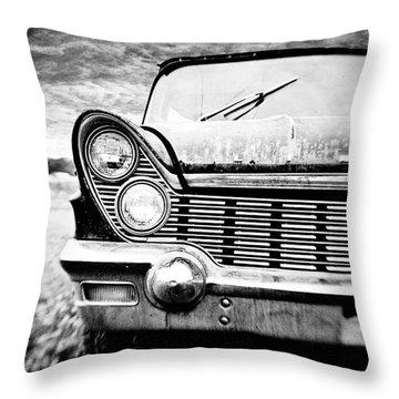 Midnight Ride Throw Pillow by Scott Pellegrin