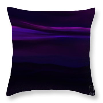Midnight Skies Throw Pillow