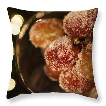 Midnight Snack Throw Pillow by Susan Bordelon
