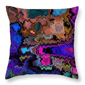 Midnight Trip Throw Pillow