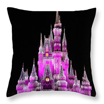 Midnight View Throw Pillow