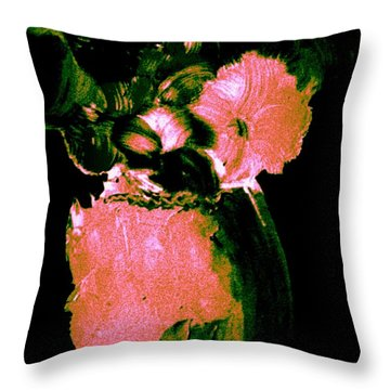 Midnight Visit Throw Pillow