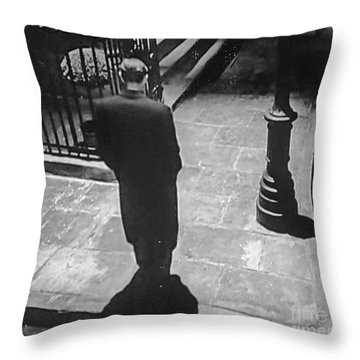 Midnight Walk Throw Pillow by Lyric Lucas