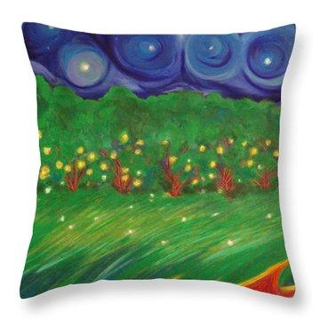 Midsummer By Jrr Throw Pillow by First Star Art