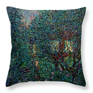 Midsummer Night Throw Pillow
