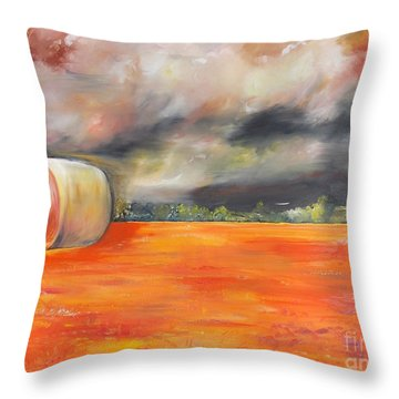 Midwest Grandeure Throw Pillow by PainterArtist FIN
