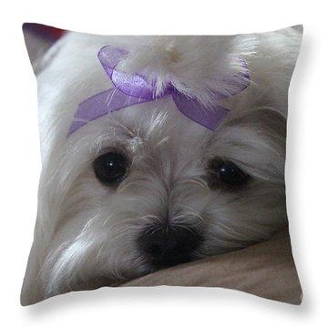 Miesha 2 Throw Pillow
