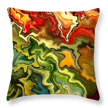 Migdaya By Rafi Talby Throw Pillow by Rafi Talby