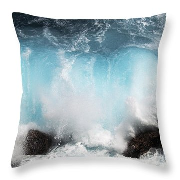 Might And Power Throw Pillow by Patricia Griffin Brett