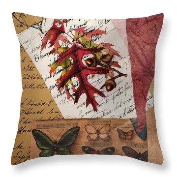 Mighty Oak Little Acorn Throw Pillow