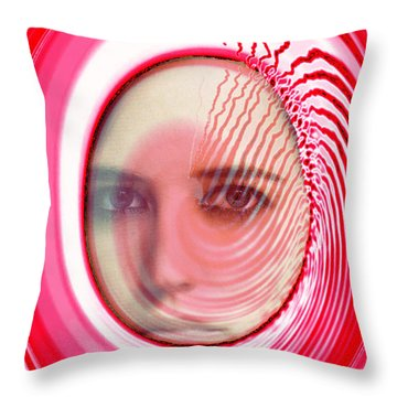 Migraine Throw Pillow by Seth Weaver
