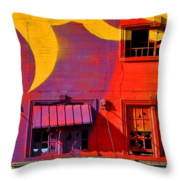 Migrate Detail 1 Throw Pillow