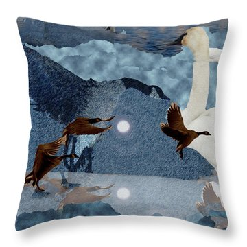 Migrations Throw Pillow