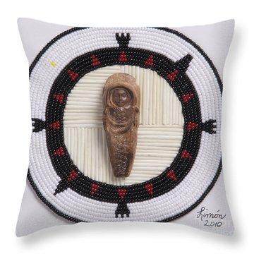 Mikinaak Cradleboard Throw Pillow