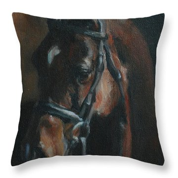 Miko Throw Pillow by Lisa Phillips Owens