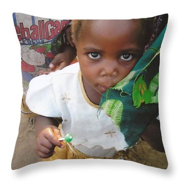 Milawan Child Throw Pillow