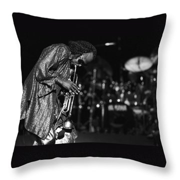 Miles Davis 1 Throw Pillow