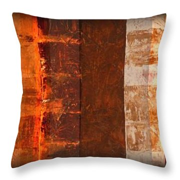 Milestones Throw Pillow by Linda Bailey
