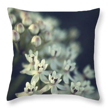 Milkweed  Throw Pillow by Saija  Lehtonen
