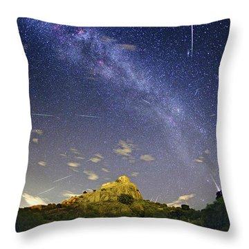 Perseid Throw Pillows