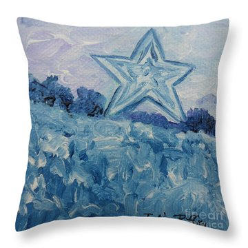 Mill Mountain Star Throw Pillow