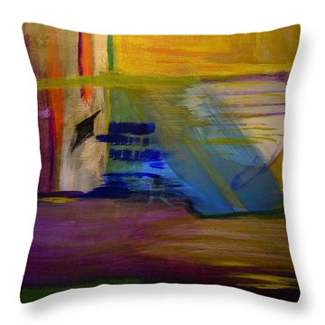 Millenium Park Throw Pillow