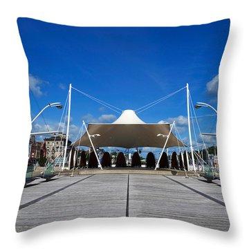Millenium Plaza, Waterford City Throw Pillow