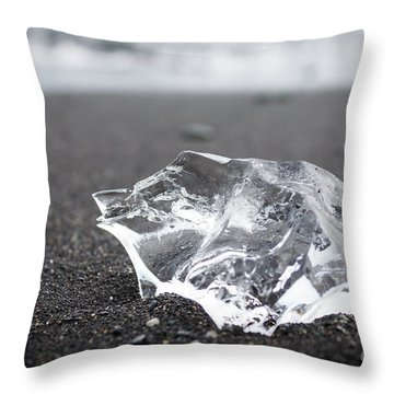 Throw Pillow featuring the photograph Millennium Ice by Peta Thames