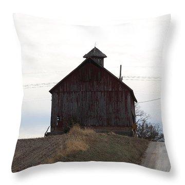 Miller  Barn Throw Pillow