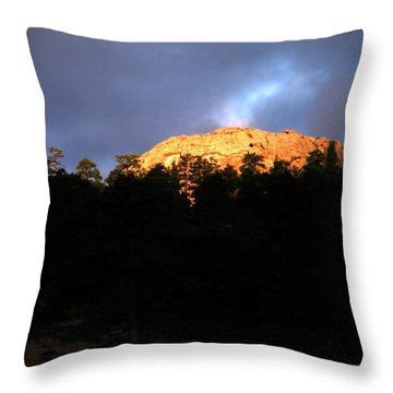 Throw Pillow featuring the photograph Miller Moth Mountain by Craig T Burgwardt