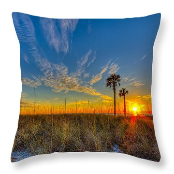Miller Time Throw Pillow by Marvin Spates