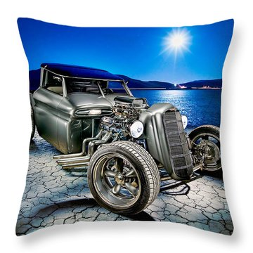 Millers Chop Shop 1964 Gmc Truck Throw Pillow