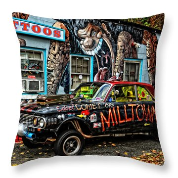 Milltown's Edsel Comet Throw Pillow