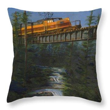 Milwaukee Road Throw Pillows